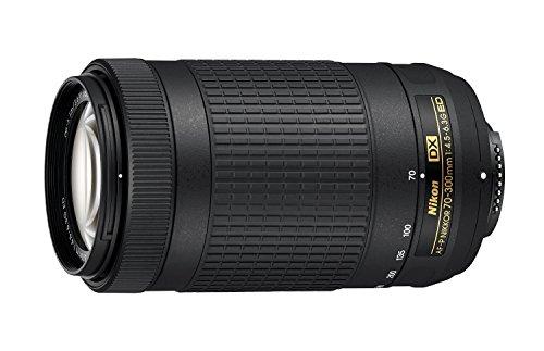 Nikon 70-300mm f/4.5-6.3G DX AF-P ED Zoom-Nikkor Lens - (Renewed)