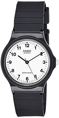 Casio Men's Quartz Resin Casual Watch, Color:Black (Model: MQ24-7B)