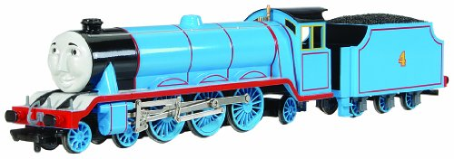 Bachmann Trains - THOMAS & FRIENDS GORDON THE EXPRESS ENGINE w/Moving Eyes - HO Scale