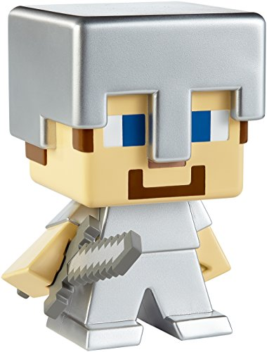 Mega Minecraft Steve (in Iron Armor) Figure