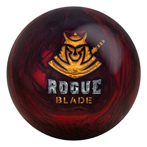 Motiv Rogue Blade Bowling Ball, Size 14.0, Red/Black