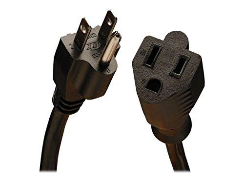 Tripp Lite Heavy-Duty Power Extension Cord 15A, 14AWG (NEMA 5-15P to NEMA 5-15R) 10-ft.(P024-010)