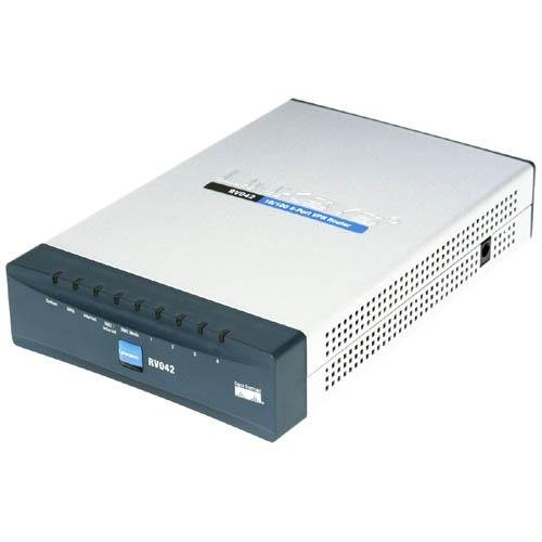 Cisco Small Business Rv042 - Router - 4-Port Switch Product Type: Networking/Routers