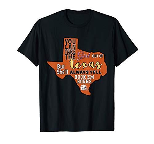 Texas Longhorns Hook'em Horns! - Apparel T-Shirt