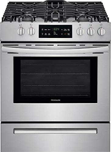 Frigidaire FFGH3054US 30 Inch Freestanding Gas Range with 5 Burners, Sealed Cooktop, 5 cu. ft. Primary Oven Capacity, in Stainless Steel