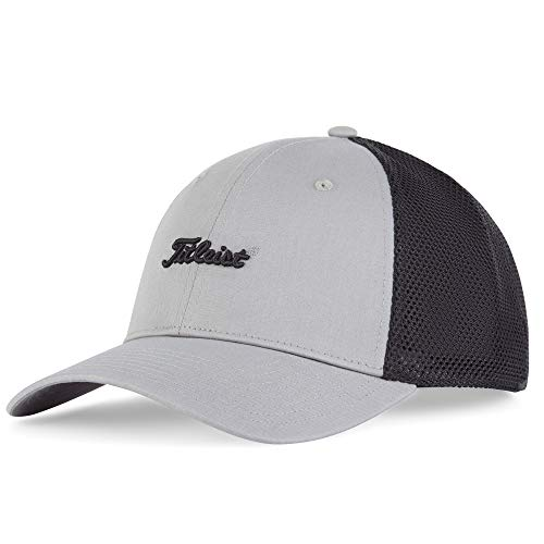 Titleist Men's Nantucket Mesh Hat Grey/Black
