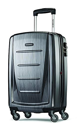 Samsonite Winfield 2 Hardside Carry On Luggage with Spinner Wheels, 20-Inch, Charcoal