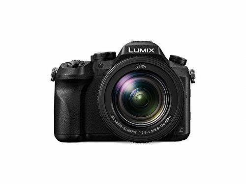 Panasonic LUMIX FZ2500 4K Point and Shoot Camera, 20X LEICA DC VARIO-ELMARIT F2.8-4.5 Lens, 21.1 Megapixels, 1 Inch High Sensitivity Sensor, 422 10-bit, HDMI Out, DMC-FZ2500 (USA BLACK)