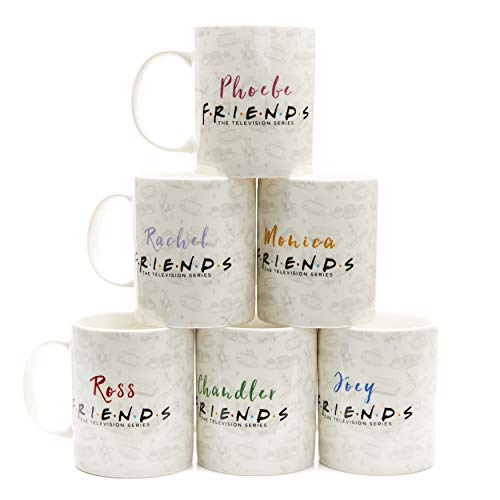 Friends TV Show Coffee Mug Set of 6