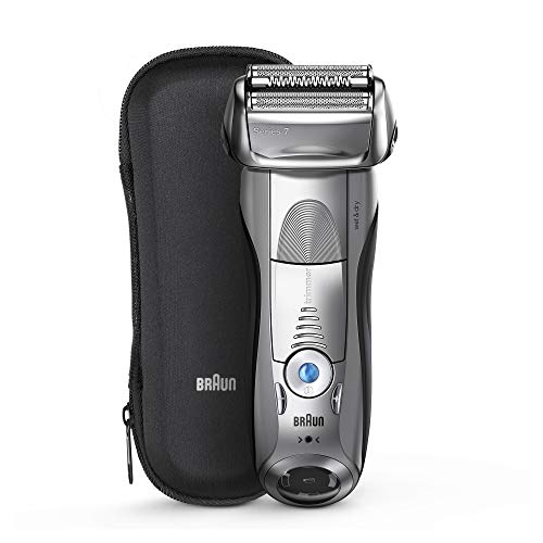 Braun Electric Razor for Men, Series 7 7893s Electric Shaver With Precision Trimmer, Rechargeable, Wet & Dry & Travel Case