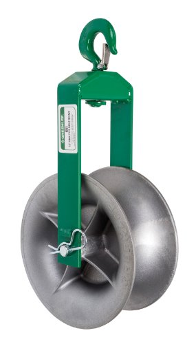Greenlee - Sheave-Cable 6' Hook (650), Pulling (650)