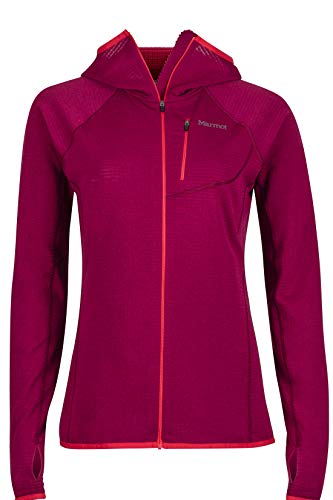Marmot Women's Neothermo Hoody, Red Dahlia, Large