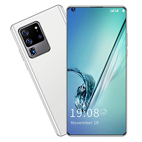 S30U PRO 6.82in Smartphone,2GB+16GB,Up to 128GB of Expandable Storage,HD Perforated Full Screen Phone Dual Card Dual Standby(White)