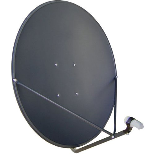 GEOSATpro 36'/90cm FTA Satellite Dish and .5dB NR SL1PLL Single Standard LNBF