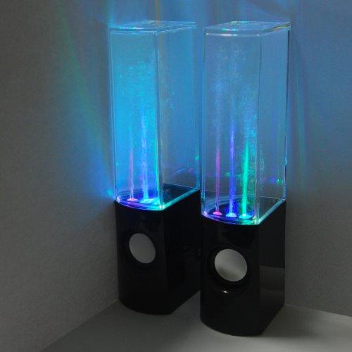 Leading Edge Novelty Water Dancing Speakers Black