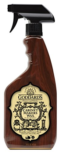 Goddard's Cabinet Makers Fine Wax Spray For Wood Furniture, 16 Oz
