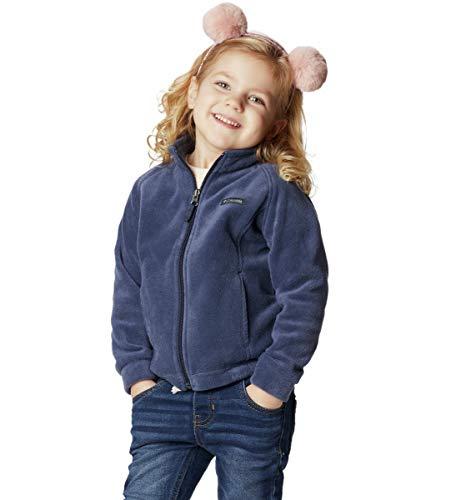 Columbia Baby Girls Benton Springs Fleece Jacket, Nocturnal Blue, Medium