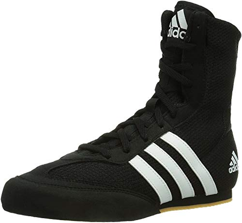 adidas Box Hog 2 Mens Boxing Trainer Shoe Boot Black/White - UK 8