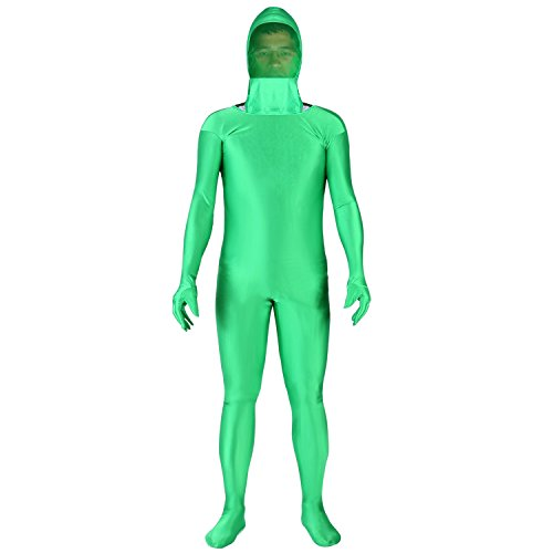Neewer Photo Video Chromakey Green Suit Green Screen Chroma Key Body Suit Spandex Material for Photo Video Invisible Effect