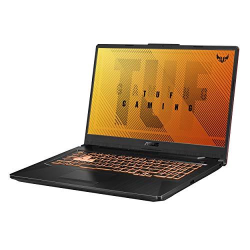 "ASUS TUF Gaming F17 Gaming Laptop, 17.3"" 144Hz FHD IPS-Type Display, Intel Core i5-10300H, GeForce GTX 1650 Ti, 8GB DDR4, 512GB PCIe SSD, RGB Keyboard, Windows 10, Bonfire Black, FX706LI-ES53"