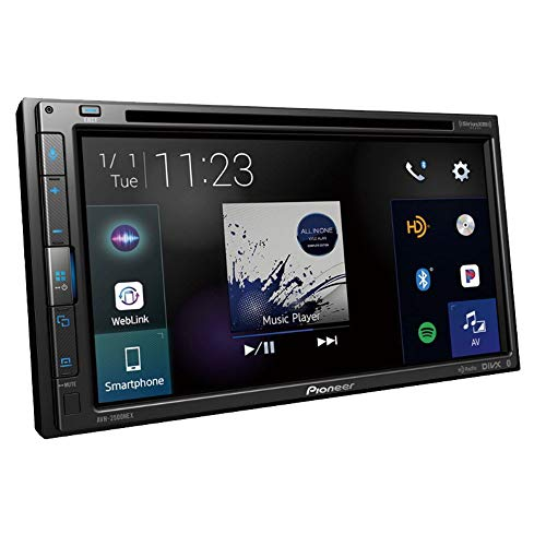 PIONEER AVH-1500NEX Multimedia DVD Receiver with 6.2' WVGA Display with Apple CarPlay, Bluetooth, and SiriusXM-Ready
