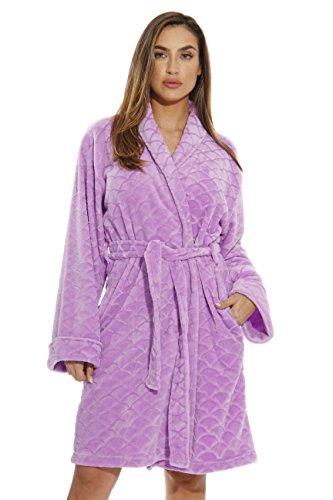 Just Love Kimono Robe Bath Robes for Women 6311-Lilac-S