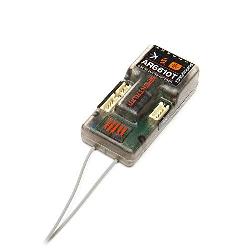 Spektrum AR6610T DSMX 6-Channel Telemetry Receiver, SPMAR6610T