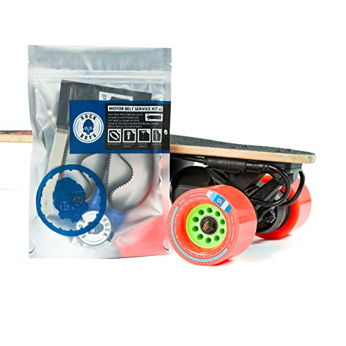 Huck Boys Boosted Board Replacement Belt Kit x2 - Complete Motor Belt Service Kit in Order to Change The Belts Twice on The Following Boosted Boards: V2, 2nd Gen, Mini S, Mini X, Plus and Stealth