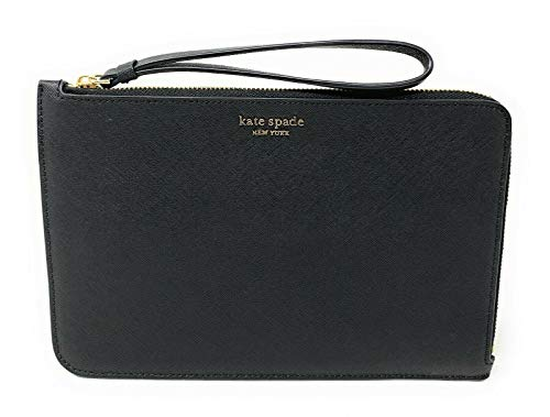 Kate Spade New York Cameron Street Wristlet Wallet Compatible with all iphone cases, Nw Black