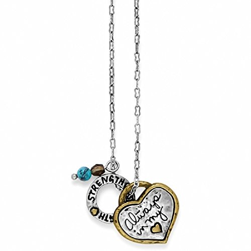 Brighton Art & Soul Heart Necklace