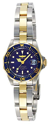 Invicta Women's Pro Diver Japanese-Quartz Watch with Two-Tone-Stainless-Steel Strap, Silver, 12 (Model: INVICTA-8942)
