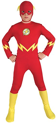 Justice League The Flash Child's Costume, Medium