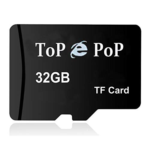 32GB Micro SD Card TF Card Flash Memory Card High Speed Storage Card with Adapter Compatible with Smart Cell Phones Samsung Galaxy S8 S9 S10 Digital Cameras GPS Laptops PC Speaker Car Camera