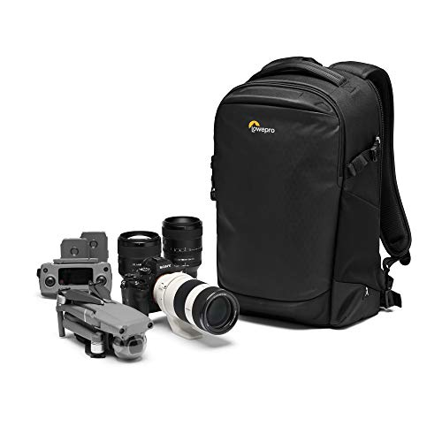 Lowepro Flipside BP 300 AW III Mirrorless and DSLR Camera Backpack - Black - with Rear Access - with Side Access - with Adjustable Dividers - for Mirrorless Like Sony α7 - LP37350-PWW