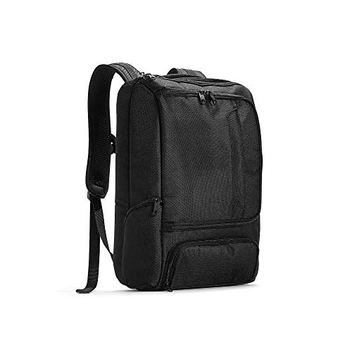 eBags Pro Slim Laptop Backpack (Solid Black)