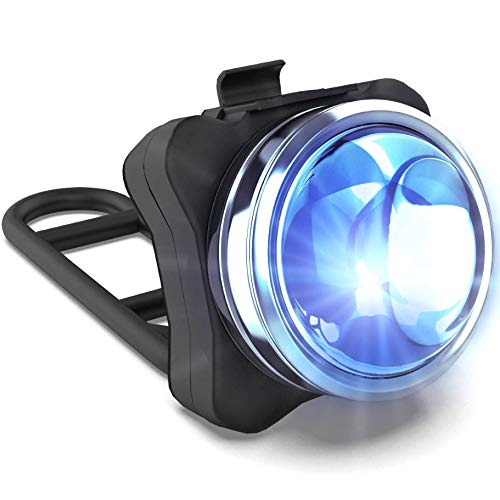 NP NIGHT PROVISION OPTIKS P220 Rear Police Bike Light: 220 Lumens - USB Rechargeable - 6hr Max - Water Resistant - 5 Modes - Red/Blue Strobe LED - Real Police Patrol Lights for Bicycles