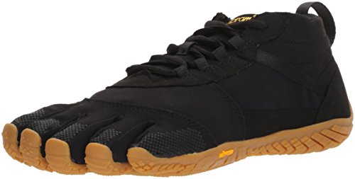 Vibram Five Fingers Women's V-Trek Trail Hiking Shoe (39 EU/8-8.5, Black/Gum)