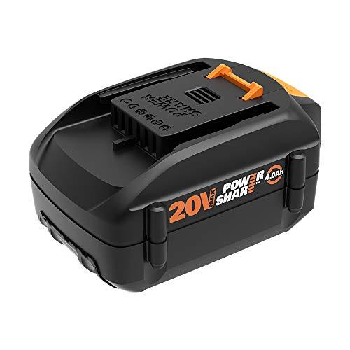 WORX WA3578 20V 4.0Ah, Orange and Black