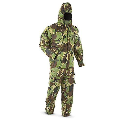 Military Outdoor Clothing Never Issued Medium U.K. DPM Camo Military Chemical Suit