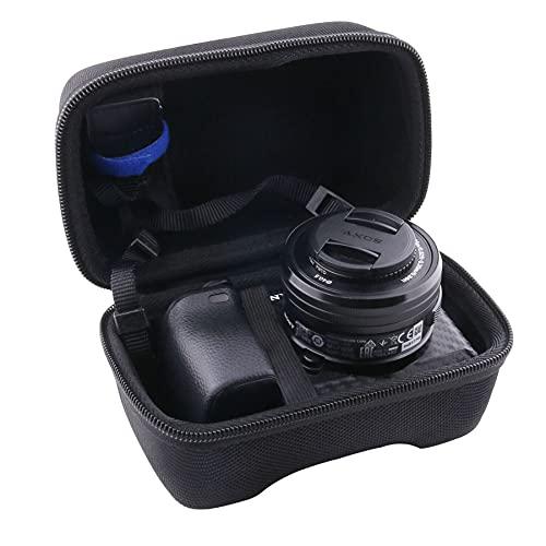 WERJIA Hard EVA Travel Case for Sony Alpha a6000/a6400/a6600/a6100/a5100 Mirrorless Digital Camera