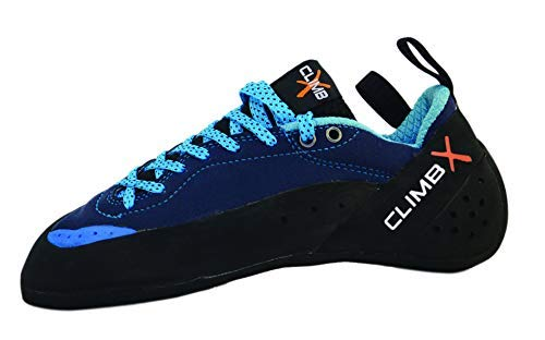 Climb X Crush Lace - Blue - 2019 Rock Climbing/Bouldering Shoe (11.5)
