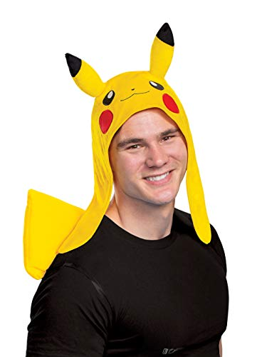 Disguise Unisex Pikachu Costume Kit, Yellow, One Size Adult