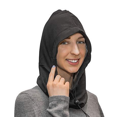 EMF Protection Hat Hood, Anti Radiation, EMF RF Radiation Shielding Silver Fabric. High Shielding Efficiency 99.99%. Reduce 5G, 4G, Cellular, WiFi, Bluetooth, Smart Meter RF Exposure. Adjustable.