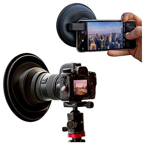 Original ULHcombo Ultimate Lens Hood Bundle - Camera Lens Anti Reflection Lens Hood - Mobile Phone Lens Attachment - Lens Skirt Antireflection - DSLR Rubber Lens Hoods