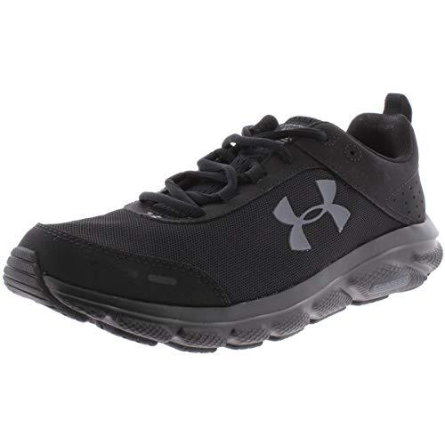 UNDER ARMOUR Men's Charged Assert 8 Running Shoe, Black (002)/Black, 11