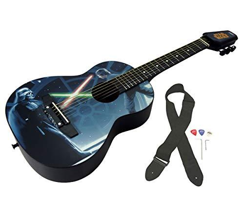 Peavey Star Wars Classic Luke vs. Vader 1/2 Size Student Acoustic 18 Fret First Beginner Guitar