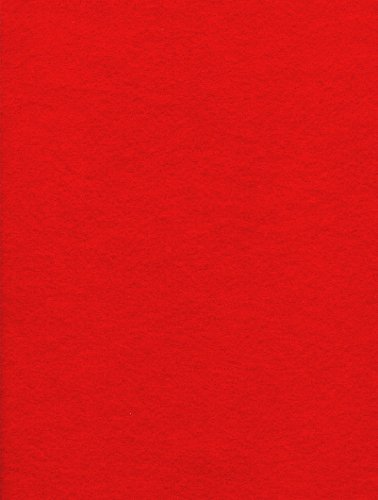 1-Bolt Kunin Eco-fi Classicfelt, 36-Inch by 20-Yard, Red