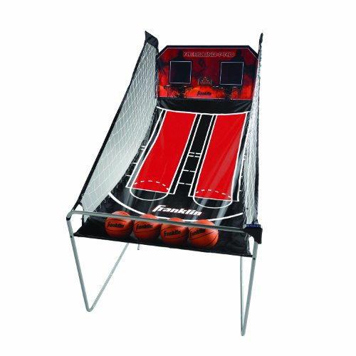 Franklin Sports Arcade Basketball - Indoor Basketball Shootout - 2 Players - Includes Electronic Scoreboard and 4 Mini Basketballs