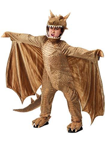 Kids Fantasy Dragon Costume Full Body Dragon Costume for Boys and Girls Large