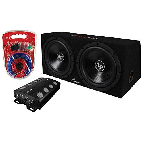 AUDIOPIPE Audio 2) 12' Subs/Car Amplifier/Amp Kit/Box